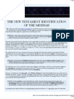 New Testament Identification of the Messiah