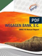 01 Wegagen Bank Ar 2009-10