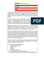Project Report on Organic Farming