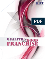 Qualities of Good Franchise!!!