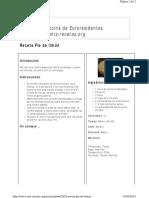 Www.mis Recetas.org Recetas Print 2924 Receta Pie de Limon