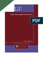 Doce Tesis Sobre La Politica
