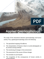 Applied Geomorphology