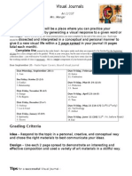 Visual Journal Handout