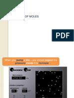 gas-no of moles