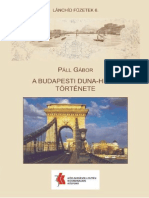 Páll Gábor - A budapesti Duna-hidak története