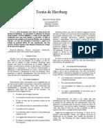Paper Teoria de Herzberg
