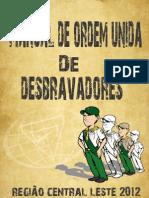 Manual de Ordem Unida - Curso de Capitães e Conselheiros