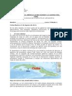 GUIA BAHIA COCHINOS CRISIS DE LOS MISILES 1º C