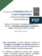 Vínculos do Indíviduo com o Trabalho e com a Organização (1)