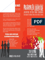 Folder Conferência Juventude -  Interno