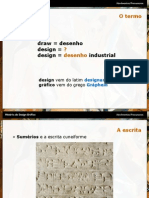 Precursores do Design