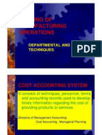 Process Costing, Cost & Management Accounting