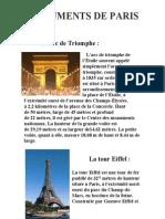 0 Monumente Din Paris