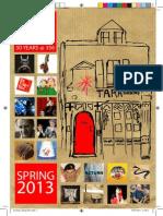 Tara Arts Spring 2013 brochure