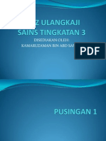 Kuiz Ulangkaji Sains Tingkatan 3