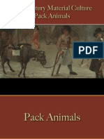 Transportation - Pack Animals