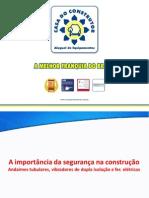 DICAS DE SEG. CONSTUÇÃO
