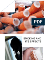 Smoking and Its Effects