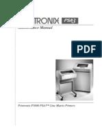 Printronix P5000 Line Matrix Printers Maintenance Manual