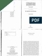 6762616 Jitrik Noe Historia Critica de La Literatura Argentina Vol