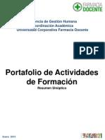Portafolio de Actividades de Formacion UC-FD Enero 2013