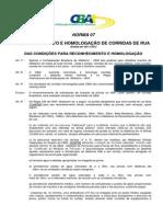 Norma 07 - Reconhecimento Corridas de Rua - 2013 (1)