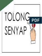 TOLONG SENYAP