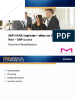 0603 Implementing SAP HANA on SLT With a Non SAP Source System