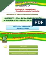 Base Legal Sede