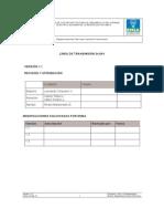 Especificacion Linea 34 5kV
