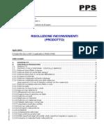 Risoluzione Inconvenienti Processo Preforme
