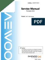 Dvd Portatil Daewoo Dpc 7900