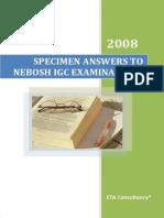01 Specimen Answers to Nebosh Igc