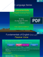 English Fundamental Part 2 (Passive Voice) by DjRay
