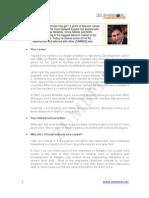 Interview | Telecom Professional | Wajih Ur Rehman | ZUMBEEL