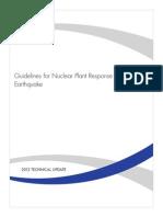 Sismos en Plantas Nucleares