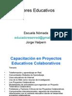 Talleres Educativos15_Capacitación Proyectos Educativos Colaborativos