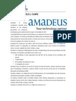 Sistema Amadeus y Sabre