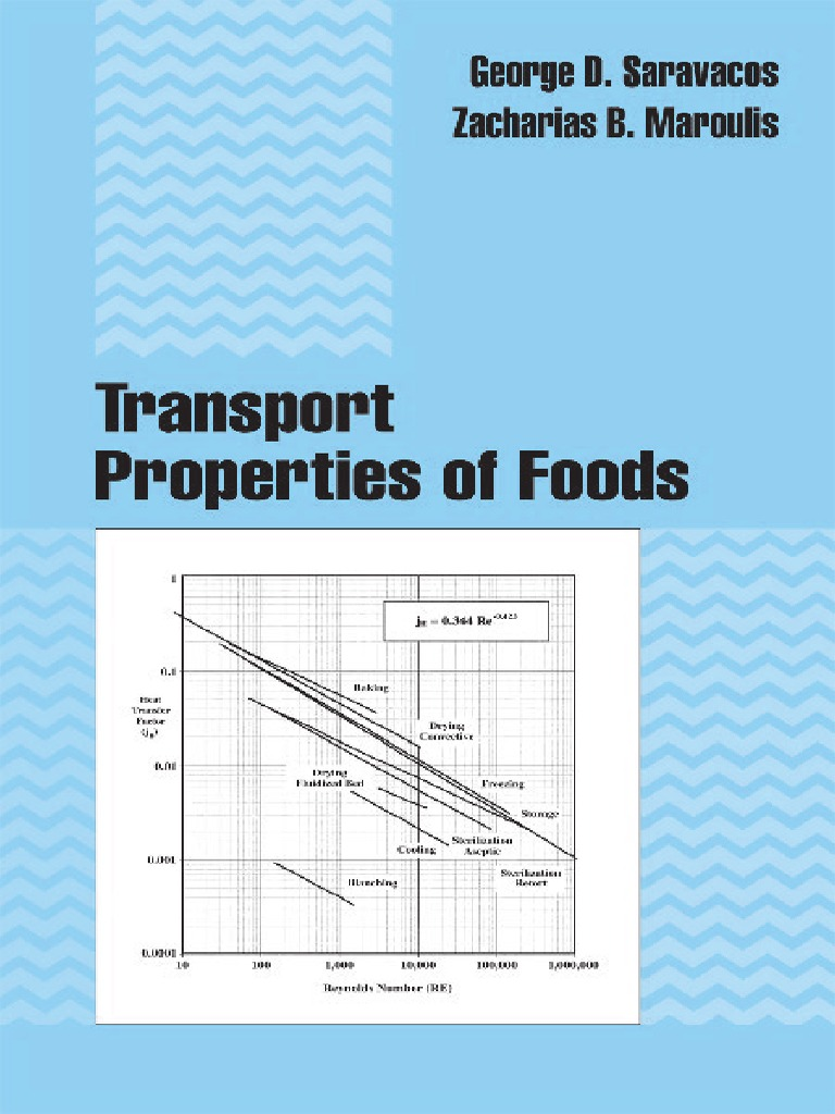 Transport Properties of Foods – G. D. Sanauacos & Z. B. Maroulis ...