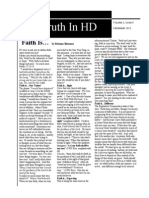Truth in HD, September 2013