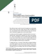 Czermak, Marcel - Qué política para el psicoanálisis en el mundo contemporáneo