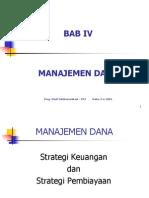 Bab 4 (Manajemen Dana)