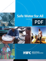 Safe Water for All - Harnessing the Private Sector to Reach the Underserved (June 2009)