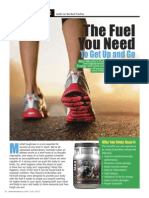 """[ENDUROMAX & VIT-ACELL]  """"The Fuel You Need to Get Up and Go"""""""