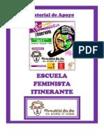 Dossier 1era Escuela Feminista Itinerante - Feministas Biobío 2011