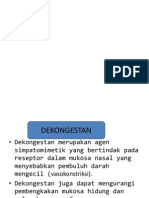 Dekongestan