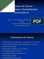 Ejemplos de Funciones de Green CarlosLopesino