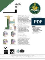 Adjustable Choke Valves CV-8