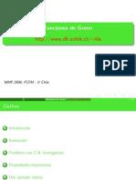 Presentación de función de green